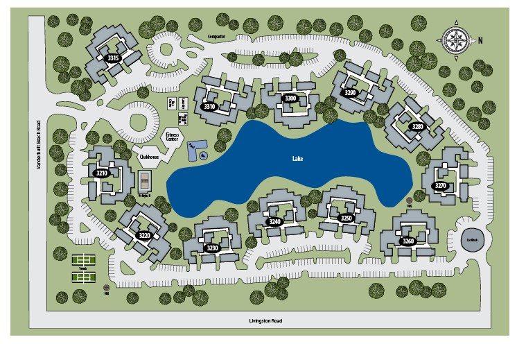 TGM Bermuda Island Apartments Map