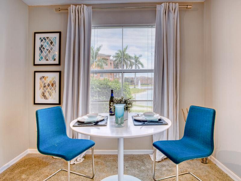 TGM Bermuda Island Apartments Dining Room 3