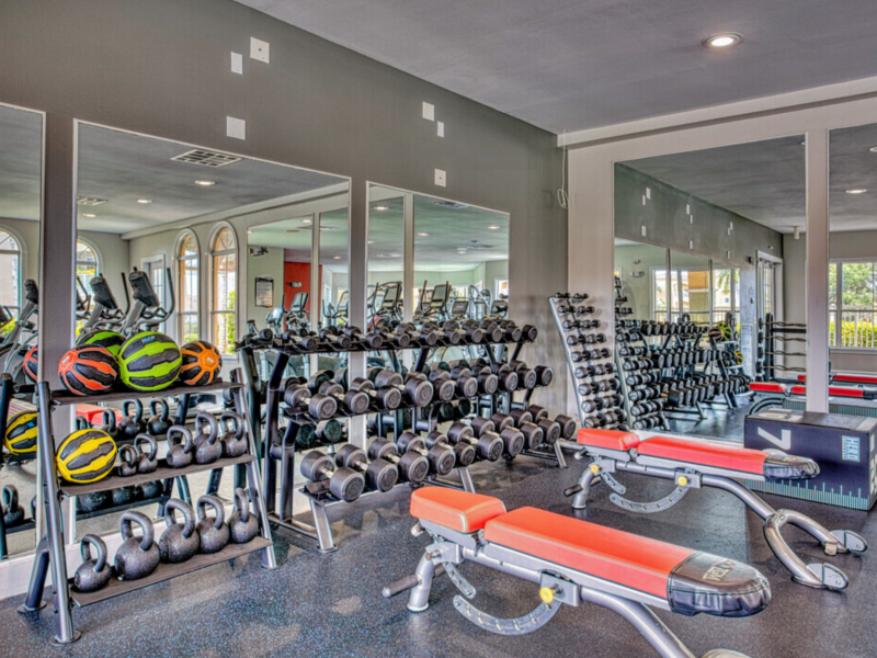 TGM Bermuda Island Apartments Fitness Gym 4
