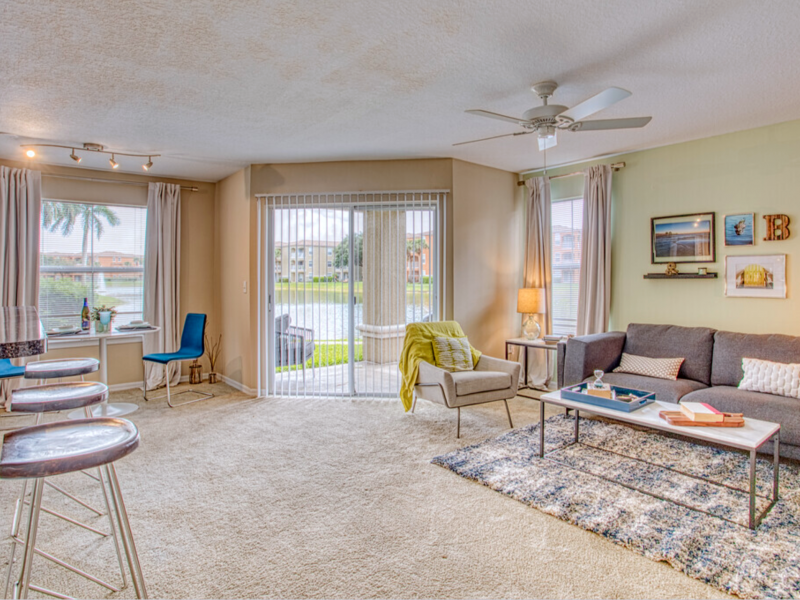 TGM Bermuda Island Apartments Living Room 5